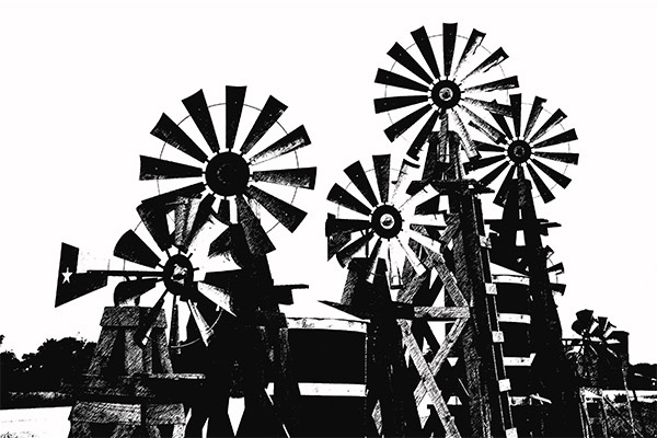 Milling The Wind, Blanco, Texas