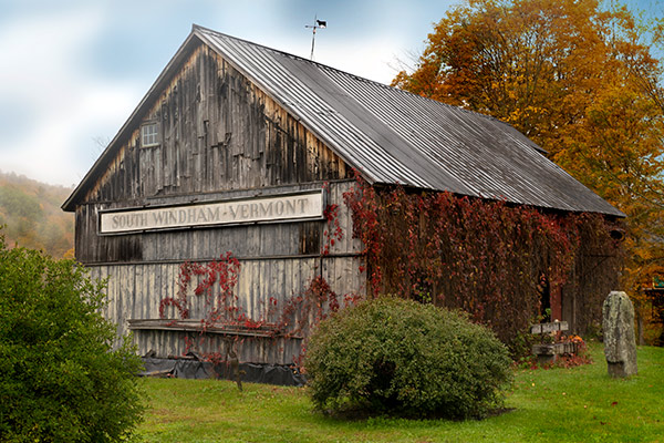Restored Barn, South Windham, Vermont