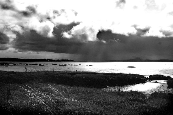 Storm Over Bowmore Bay, Islay, Southwest Scotland